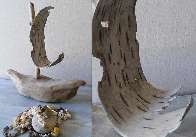 Les objets divers au fil de l 39 eau bois flott for Objets de decoration en bois flotte