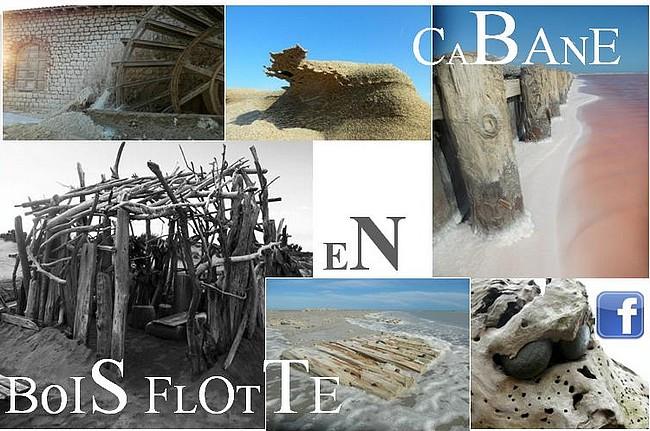 Cabane en bois flott au fil de l 39 eau bois flott for Aux bois flottes