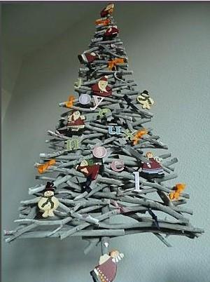 Sapin de Noël 2012 | | Au fil de l\'eau - Bois flotté
