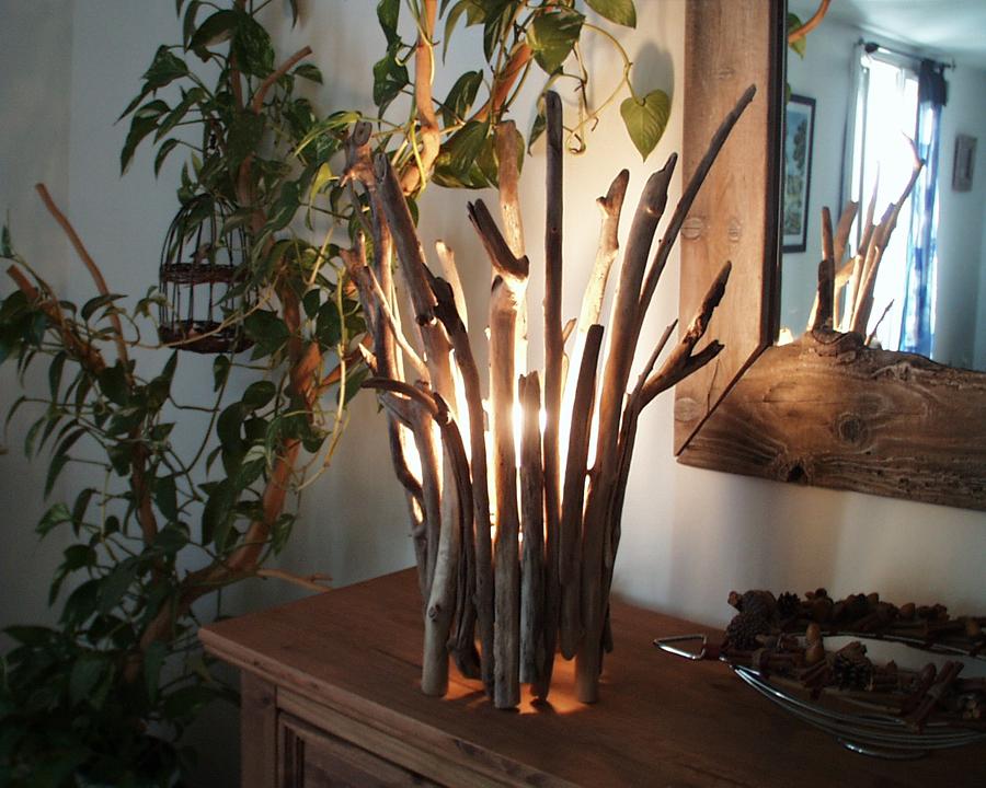 Lampe Bois Flotte Ikea : Lampe N?7