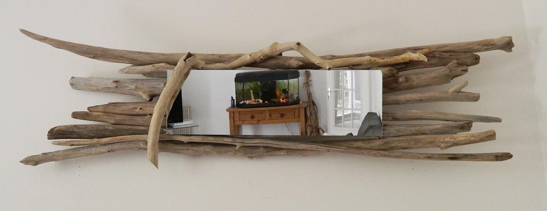 miroir n 32 au fil de l 39 eau bois flott. Black Bedroom Furniture Sets. Home Design Ideas
