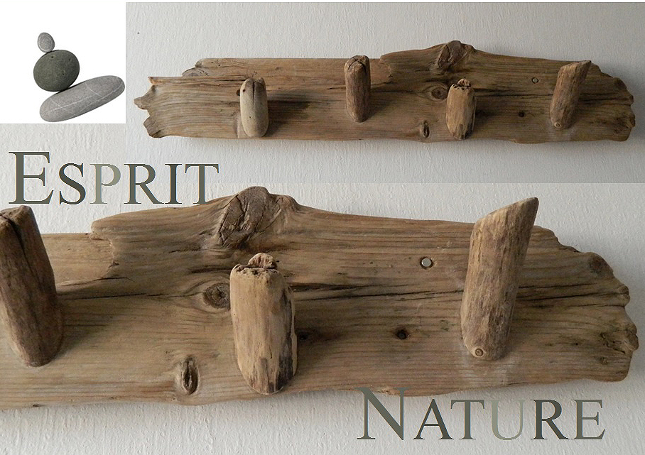 Bois flott sur for Deco nature creation bois flotte