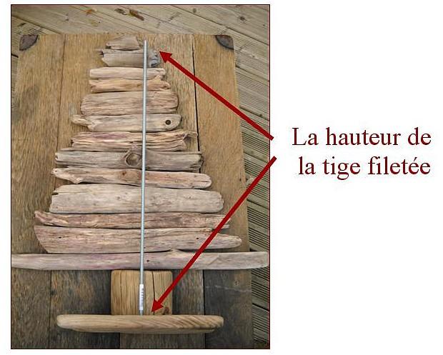 Fabriquez votre sapin de no l avec le tutoriel au fil de l 39 eau - Fabriquer sapin de noel en bois ...