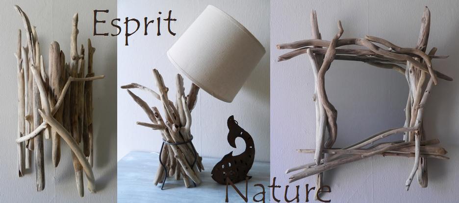 Au fil de l\'eau, créations en bois flotté