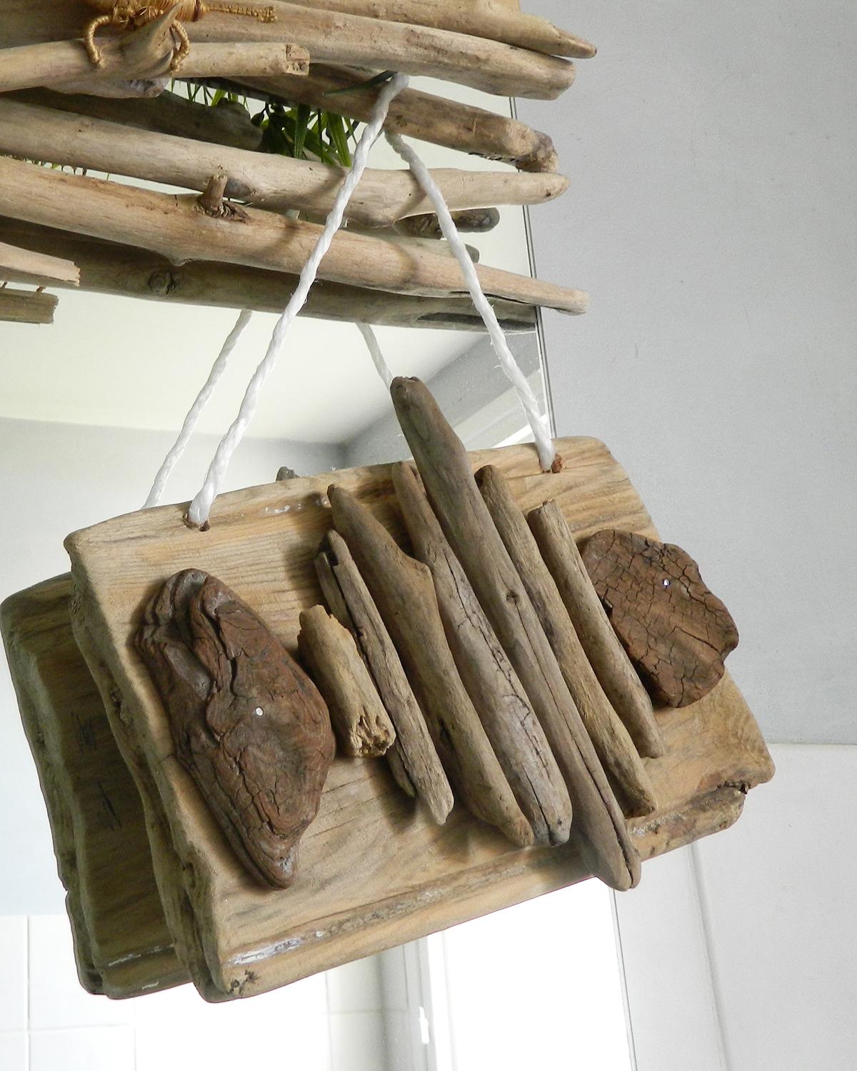 Créations En Bois Flotté 3 créations ludiques - au fil de l'eau - bois flotté